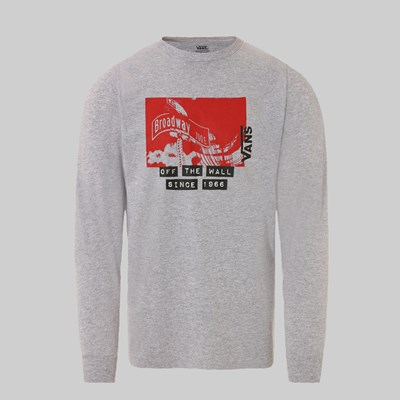 VANS X BAKER SKATEBOARDS LS T-SHIRT 1 GREY
