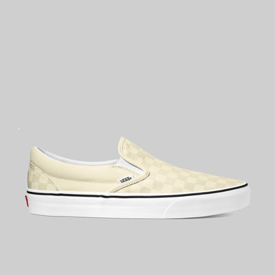 VANS CLASSIC SLIP ON 'ANAHEIM' OFF WHITE CHECKER