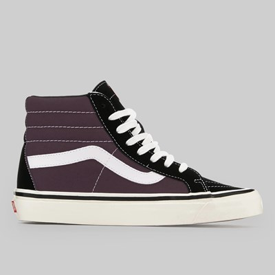 VANS COMFYCUSH SK8-HI SPORT PRUNE BLACK TRUE WHITE