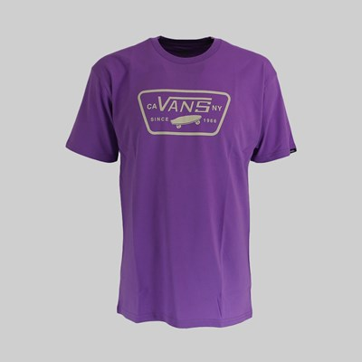 VANS FULL PATCH SS T-SHIRT ENGLISH LAVANDER