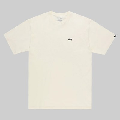 VANS LEFT CHEST LOGO SS T-SHIRT SEED PEARL