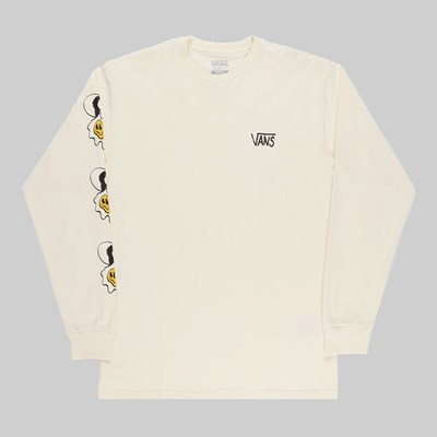 VANS MICRO DAZED LONG SLEEVE TEE SEED PEARL