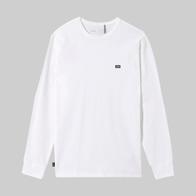 VANS OFF THE WALL CLASSIC LONG SLEEVE TEE WHITE