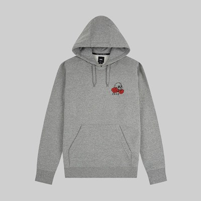 VANS ROSE BED PO HOODIE CEMENT HEATHER