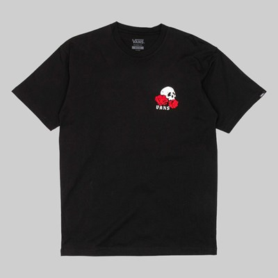 VANS ROSE BED SS T-SHIRT BLACK