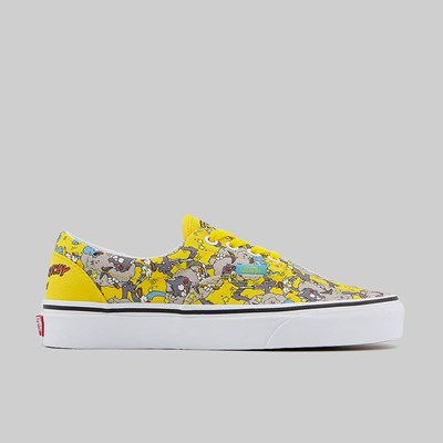 VANS X SIMPSONS ERA ITCHY & SCRATCHY YELLOW