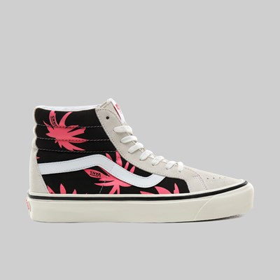 VANS SK8-HI 38 DX 'ANAHEIM' WHITE BLACK SUMMER LEAF