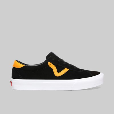 VANS SPORTS BLACK CADMIUM YELLOW