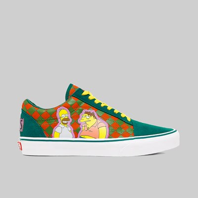 VANS X SIMPSONS OLD SKOOL MOES TAVERN BLUE