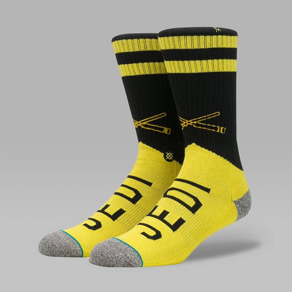 STANCE X STAR WARS VARSITY JEDI SOCKS YELLOW