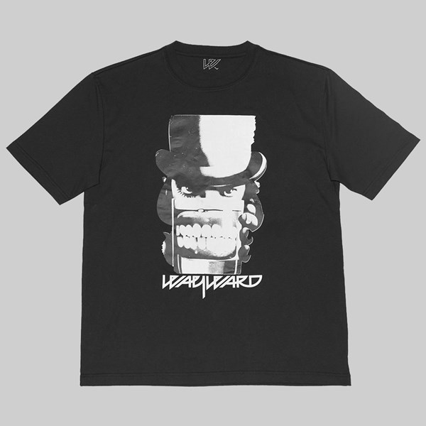 WAYWARD SKATEBOARDS CLOCKWERK SS T-SHIRT BLACK