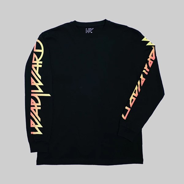 WAYWARD LONDON FLAMIN WAYSLEE LS T-SHIRT BLACK