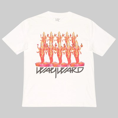 WAYWARD SKATEBOARDS LADIES SS T-SHIRT WHITE
