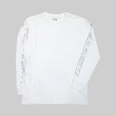 WAYWARD LONDON SNIPES LS T-SHIRT WHITE