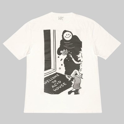 WAYWARD SKATEBOARDS WEAPER SS T-SHIRT WHITE