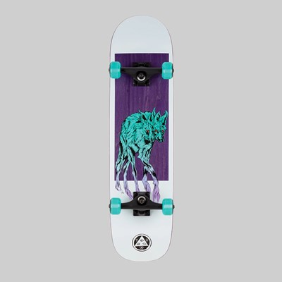 WELCOME SKATEBOARDS MANED WOLF COMPLETE 8""