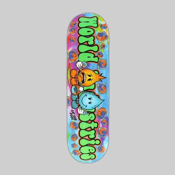 WORLD INDUSTRIES SKATEBOARDS TIDE PODS 8.25 INCH