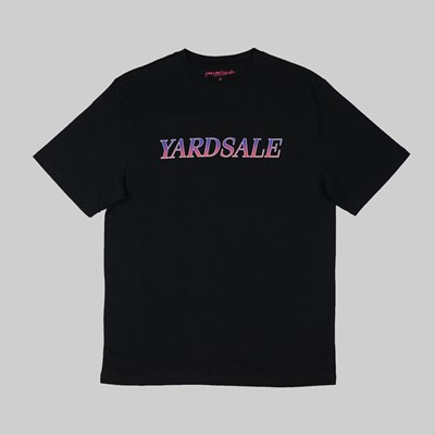 YARDSALE FADE SS T-SHIRT BLACK