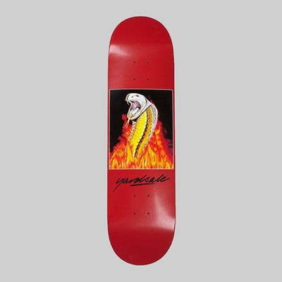 YARDSALE SNAKEBITE DECK RED 8.4""