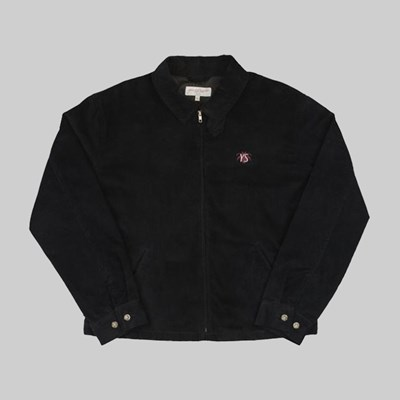 YARDSALE SPIDER CORDUROY JACKET BLACK