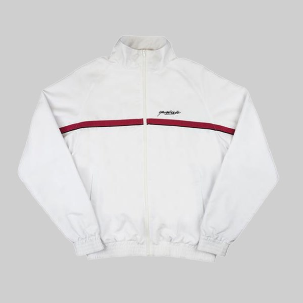 YARDSALE WAVERUNNER TRACK JACKET WHITE
