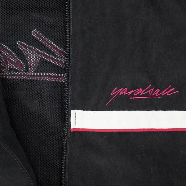 YARDSALE BLACK WAVERUNNER TRACK JACKET