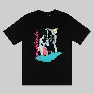 YARDSALE GLO TEE BLACK