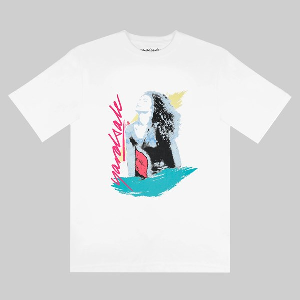 YARDSALE GLO TEE WHITE