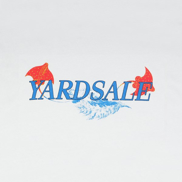 YARDSALE STING TEE WHITE