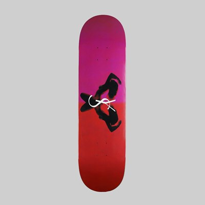 YARDSALE SKATEBOARDS UTOPIA DECK RUBY 8.3 INCH