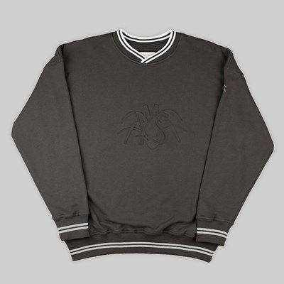YARDSALE YS EMBOSSED SWEATSHIRT CHARCOAL