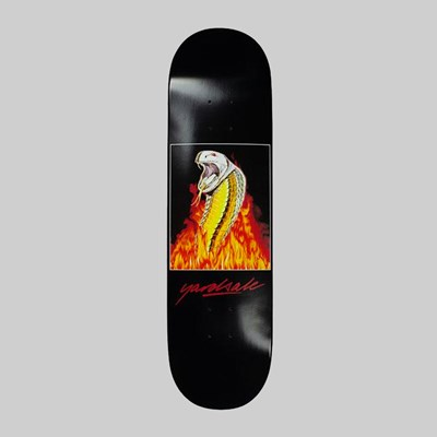 YARDSALE SNAKEBITE DECK BLACK 8.5""
