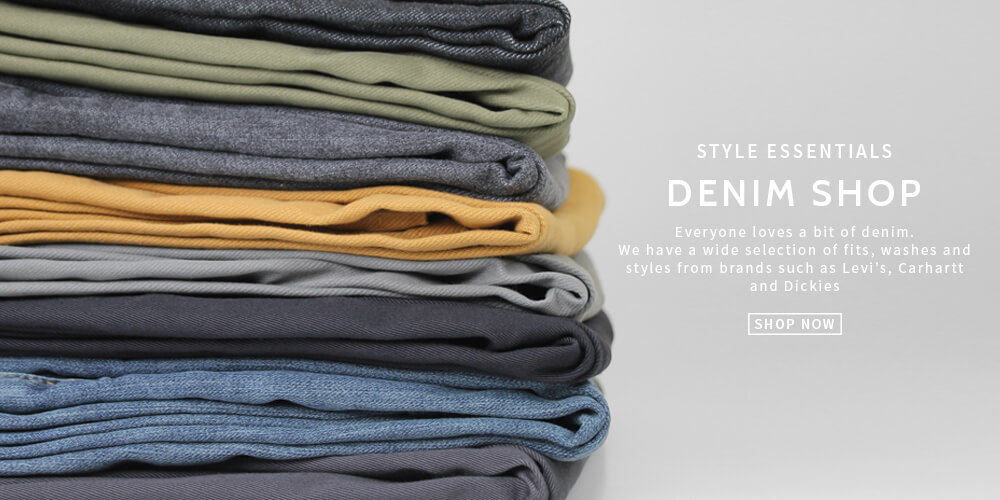 Shop for denim - Carhartt, Dickies and Levi''s at Attitude Inc