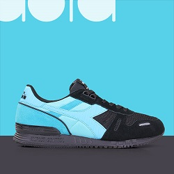 DIADORA TITAN II BLACK SEA