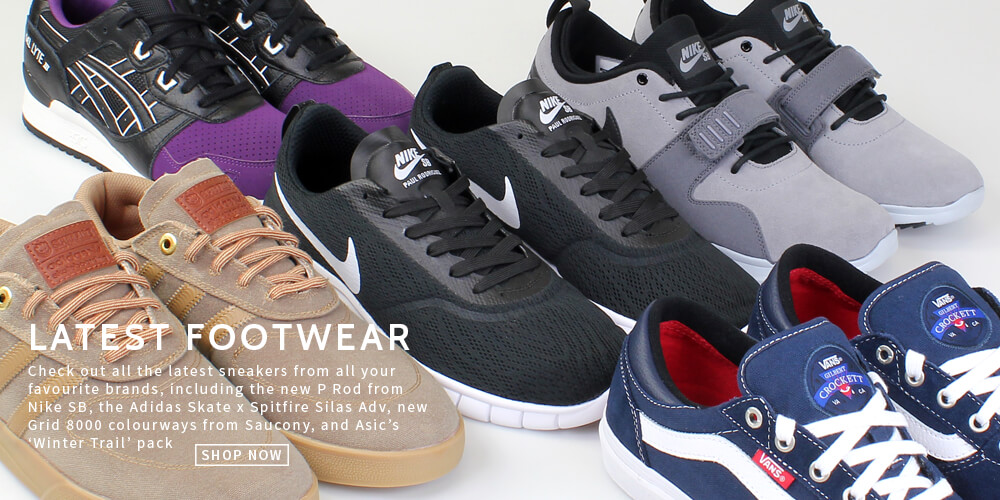 Latest footware from the hottest brands now at Attitude Inc