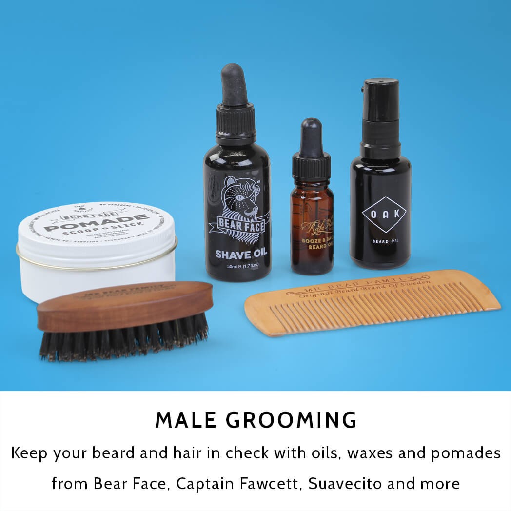 Male Grooming at Attitude Inc