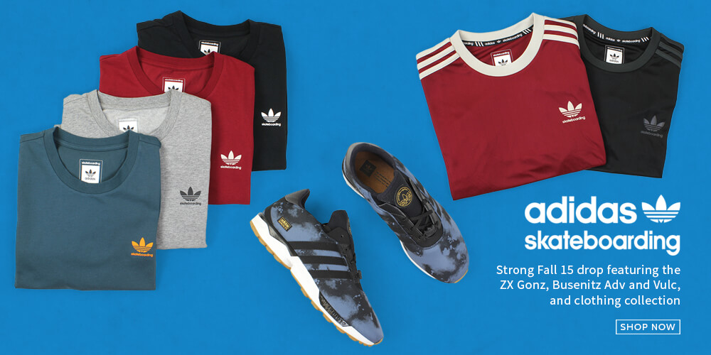 Adidas Skateboard Fall 15 now at Attitude Inc
