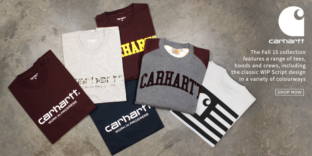 Carhartt Fall 15 Collection now at Attitude Inc