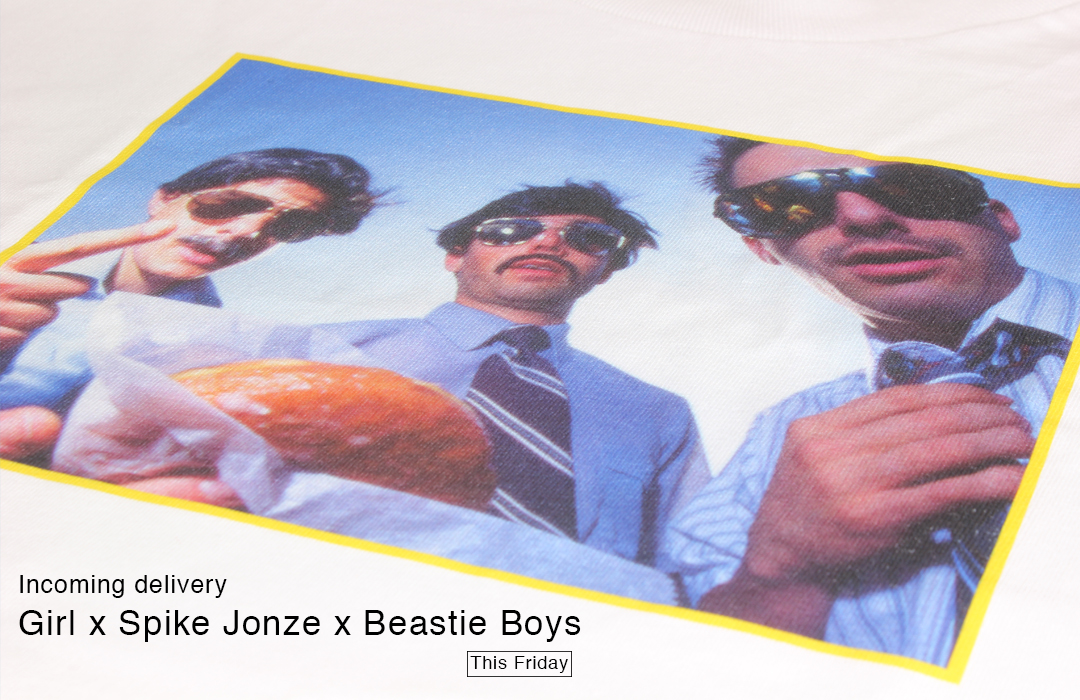 Girl X Spike Jonze X Beastie Boys Coming Soon