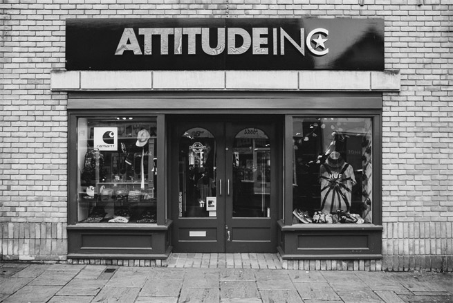 The Attitude, Inc storefront in Colchester